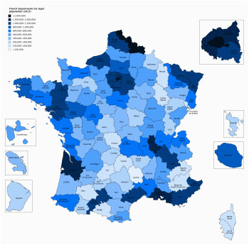 list of french departments by population wikipedia