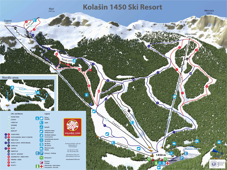 trail map kolaa in 1450