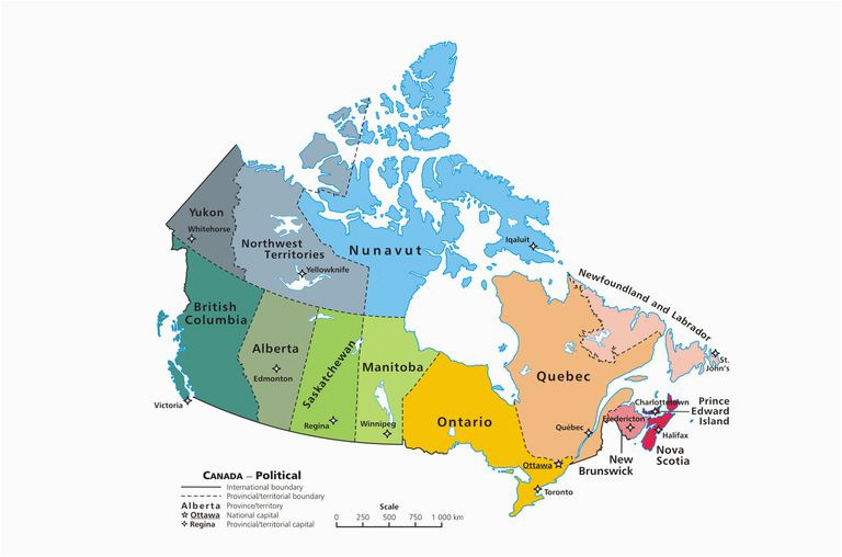 French Speaking Canada Map Canadian Provinces and the Confederation