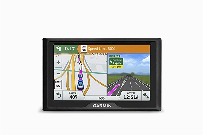 garmin drive 50 usa gps navigator system with spoken turn by turn directions direct access driver alerts and foursquare data