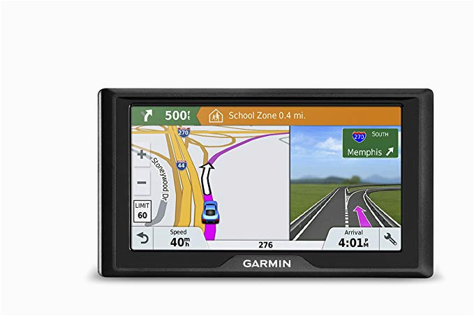 garmin drive 61 usa lmt s gps navigator system with lifetime maps live traffic and live parking driver alerts direct access tripadvisor and