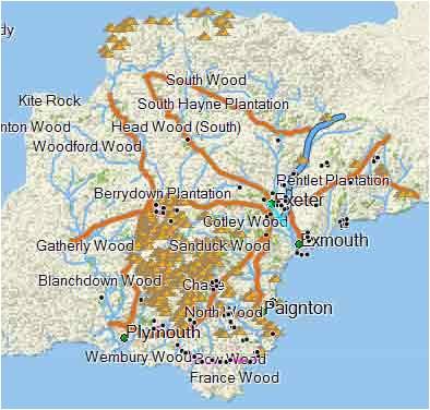 garmin topo maps elegant free walkers map of devon for garmin gps