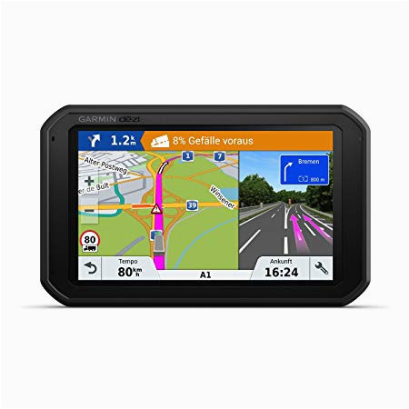 garmin dezl780 full eu lmt d navigationshandgerat europakarte inklusiv lebenslangen kartenupdates lkw spezifische routing und funktionen schwarz