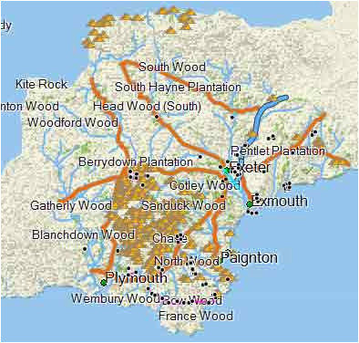 garmin topo maps lovely free walkers map of devon for garmin