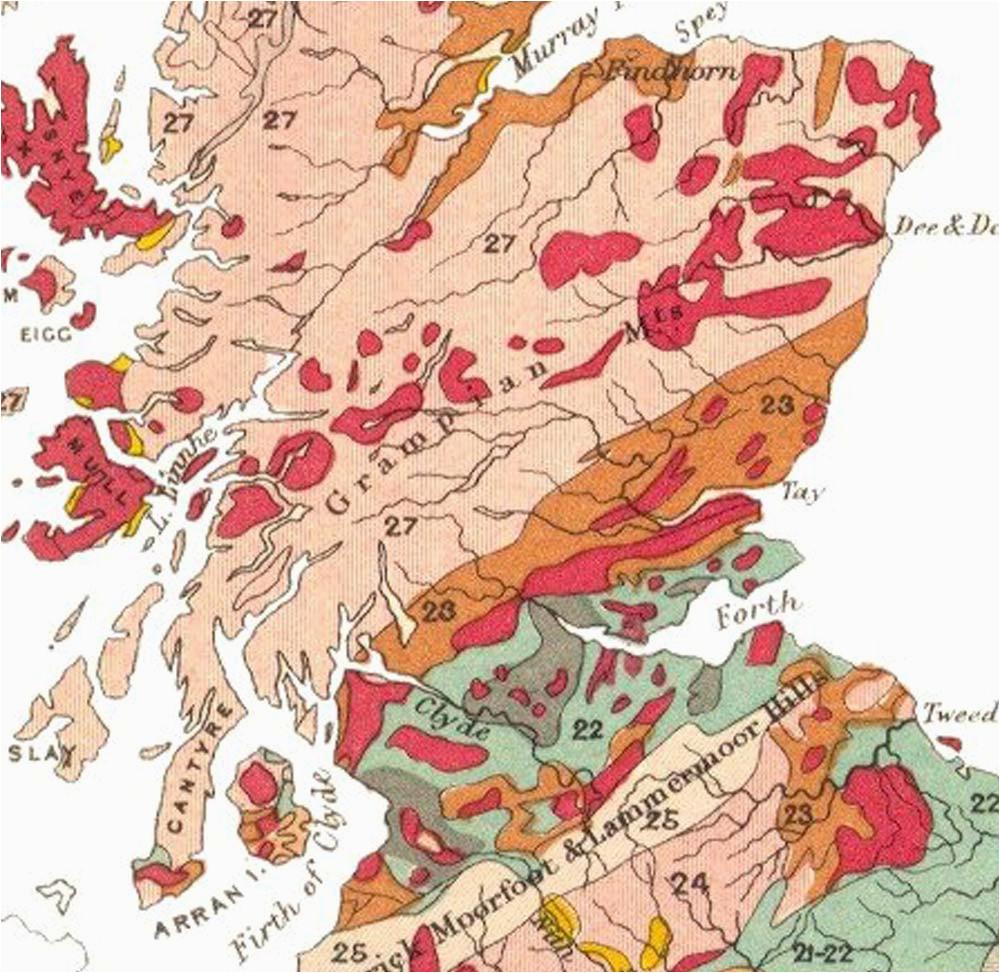 geology of scotland wikipedia