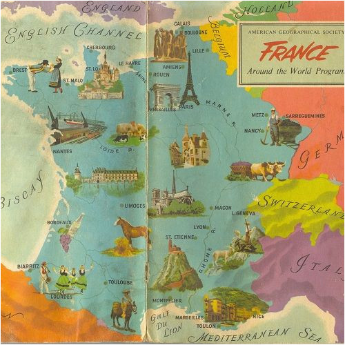 Giverny Map France Carte De La France Vive La France France Map Map France