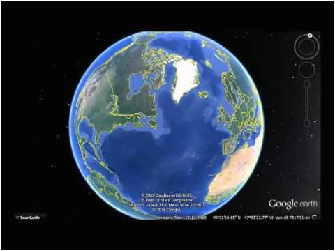 ireland google earth view