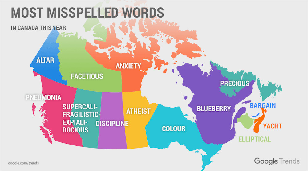 Map Of Canada With Provinces And Capitals