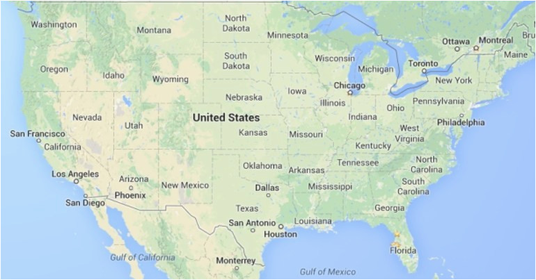 top 10 punto medio noticias google maps usa states florida