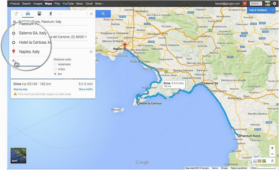 new google maps adds support for multiple destinations intersting