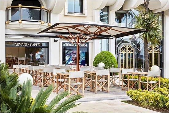 armani caffe cannes restaurant reviews photos phone number