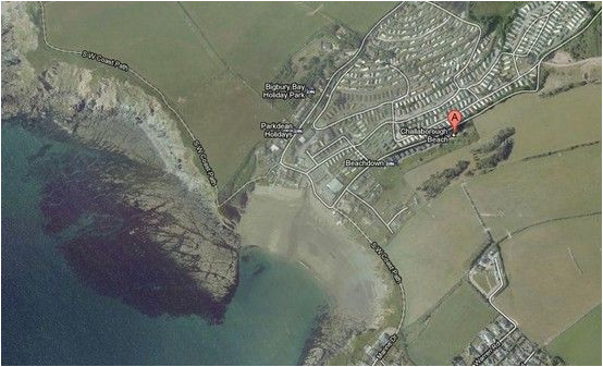 challaborough bay satellite google maps favourite places