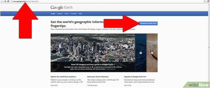 google earth benutzen wikihow