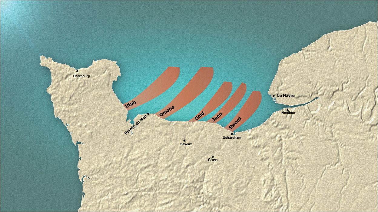 d day 75th anniversary explore our map explaining how the biggest