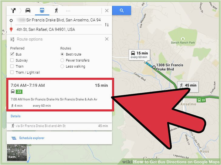 how to get bus directions on google maps 14 steps with pictures
