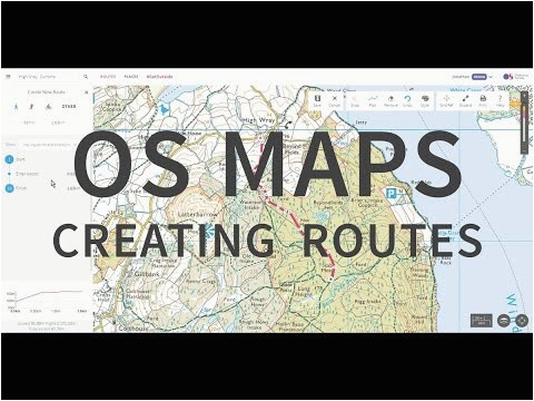 os maps route planning