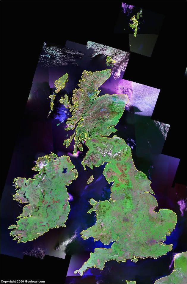 united kingdom map england scotland northern ireland wales