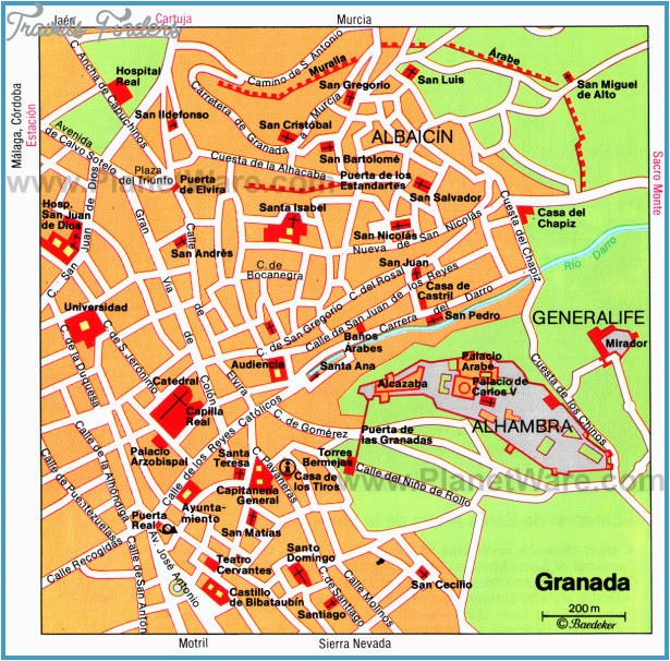 spain map tourist attractions travelsfinders com a