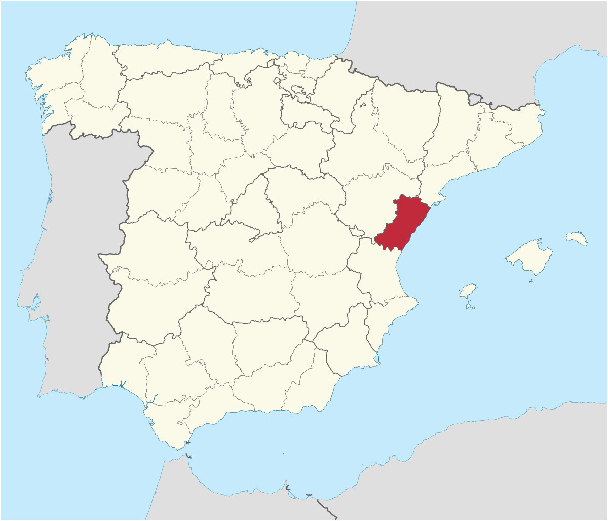 Grenada Spain Map Province Of Castella N Wikipedia