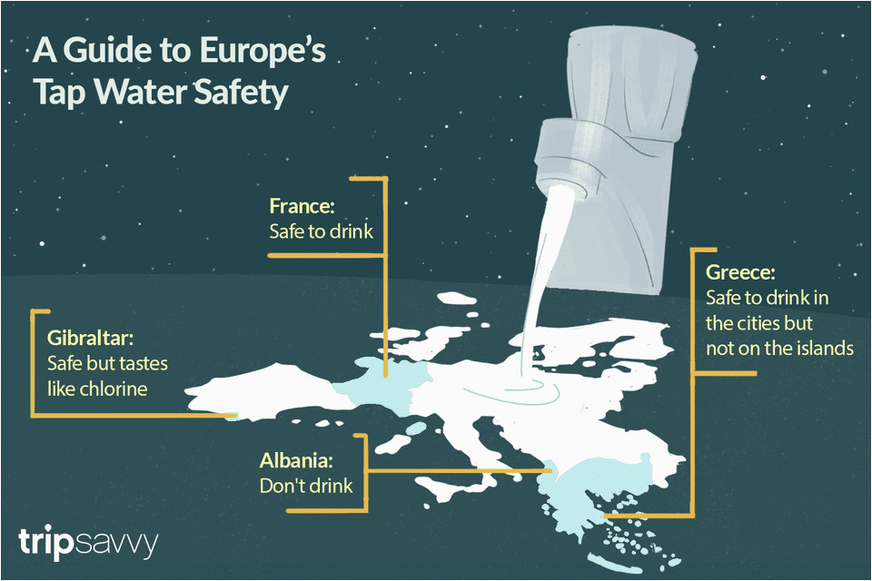 tap water safety information for european countries