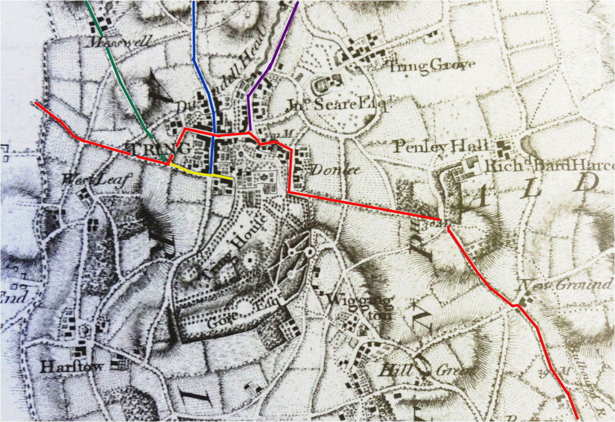 roads and those in tring