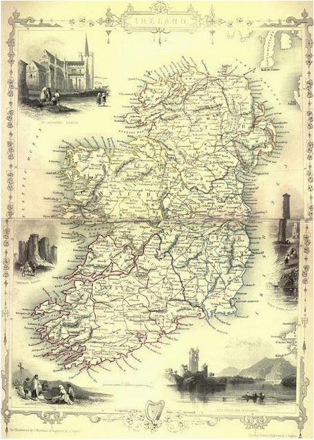 pin by sarah mactavish on historical ireland map family genealogy