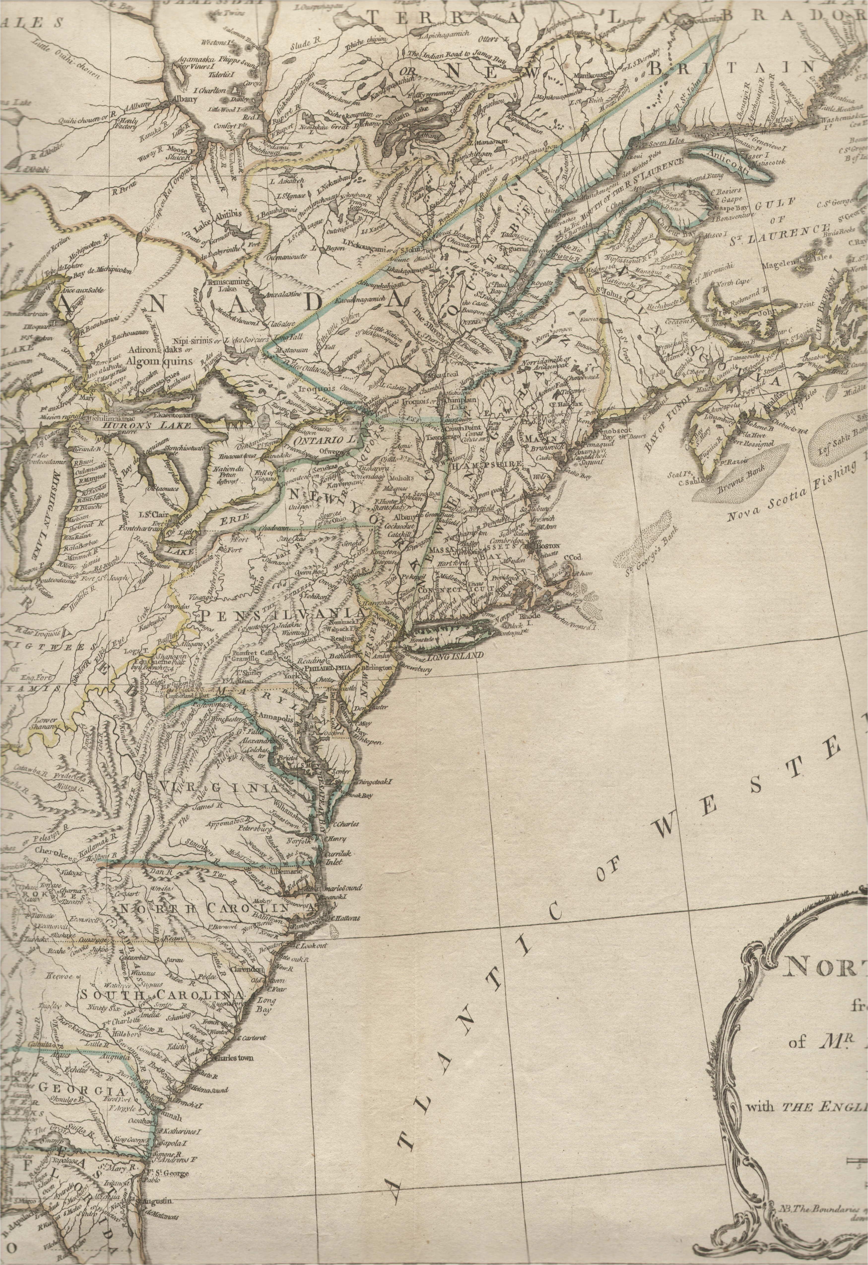 1775 to 1779 pennsylvania maps