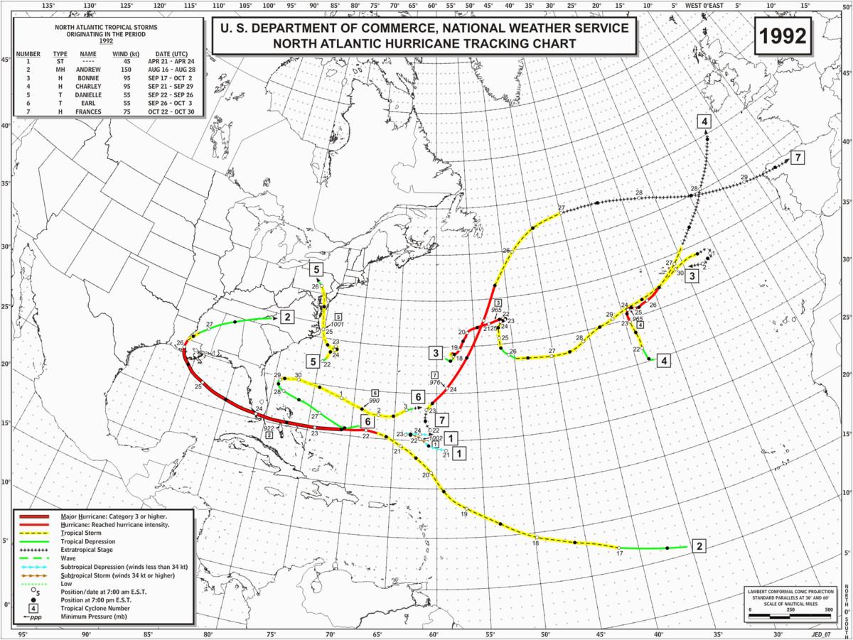 1992 atlantic hurricane season simple english wikipedia