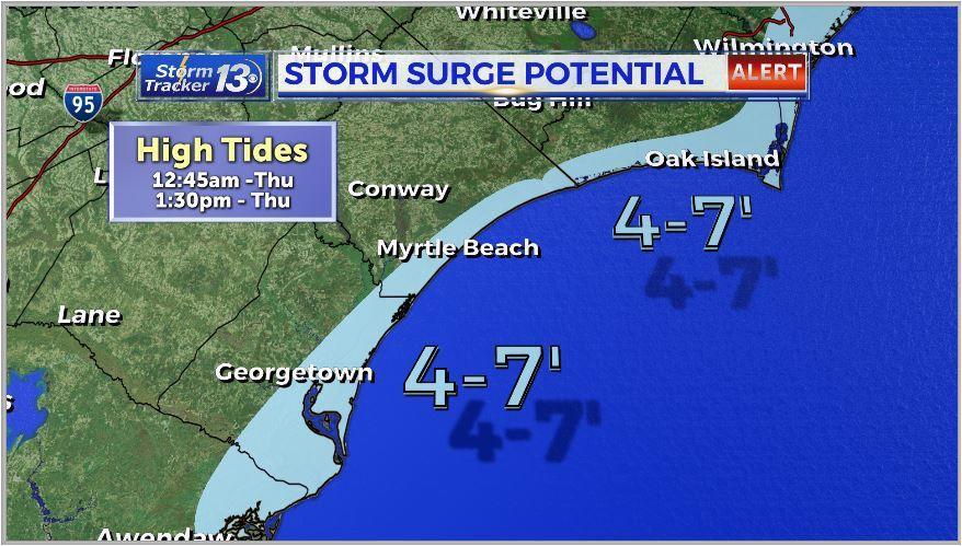 hurricane dorian regains category 3 strength wbtw