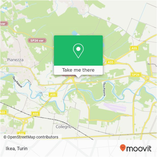 Ikea France Locations Map Ikea Collegno Maps