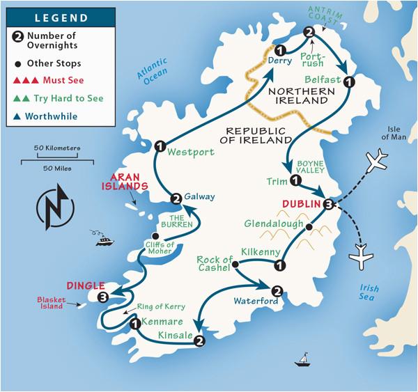 ireland itinerary where to go in ireland by rick steves