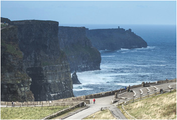 where are the cliffs of moher in clare