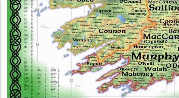 geo geneology of irish surnames arcgis blog caots