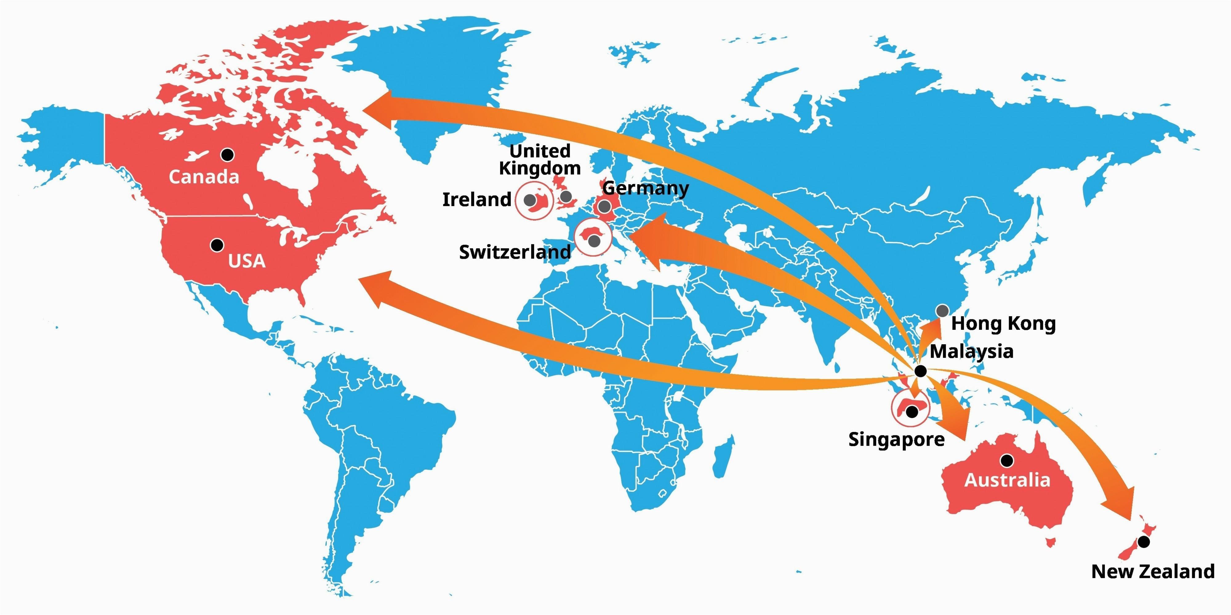 singapore location on world map climatejourney org
