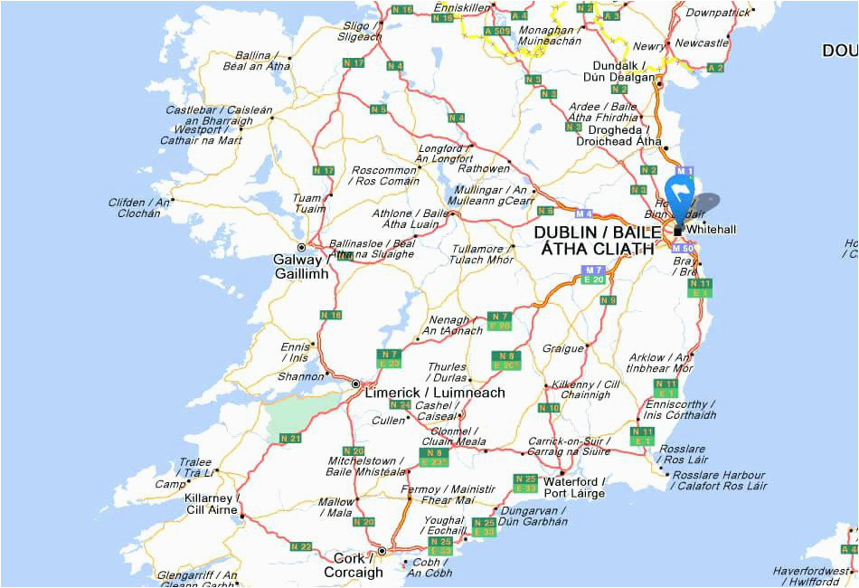 ireland road map