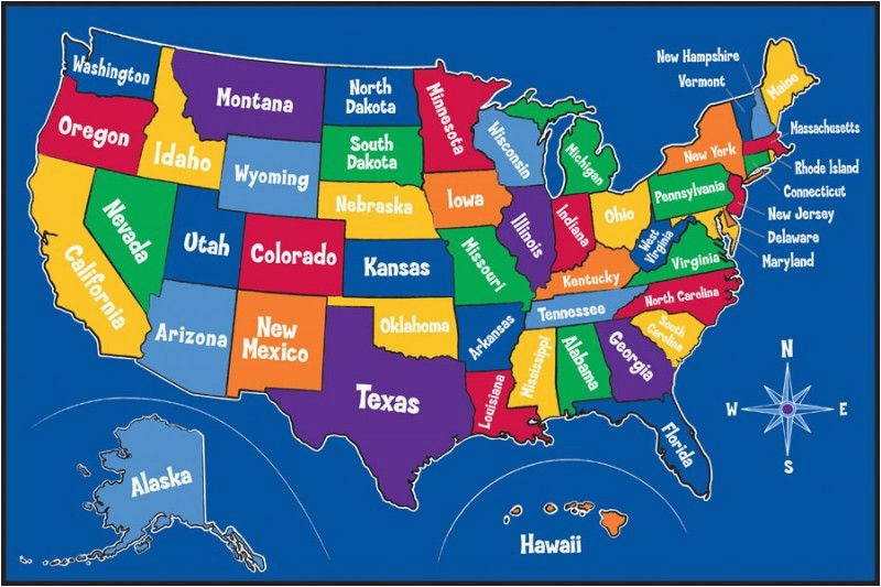 map of united states printable learning themed carpets and rugs