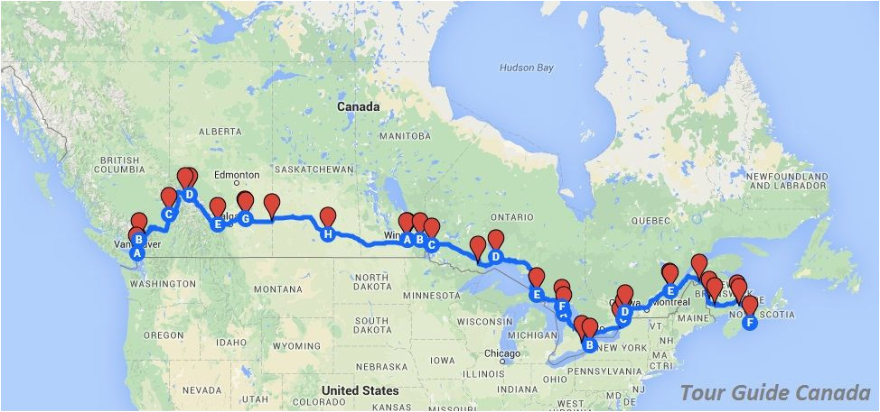 the most scenic route to travel across canada canada rv trip in
