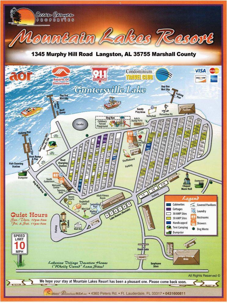 mountain lakes resort map places i like to eat lake resort rv