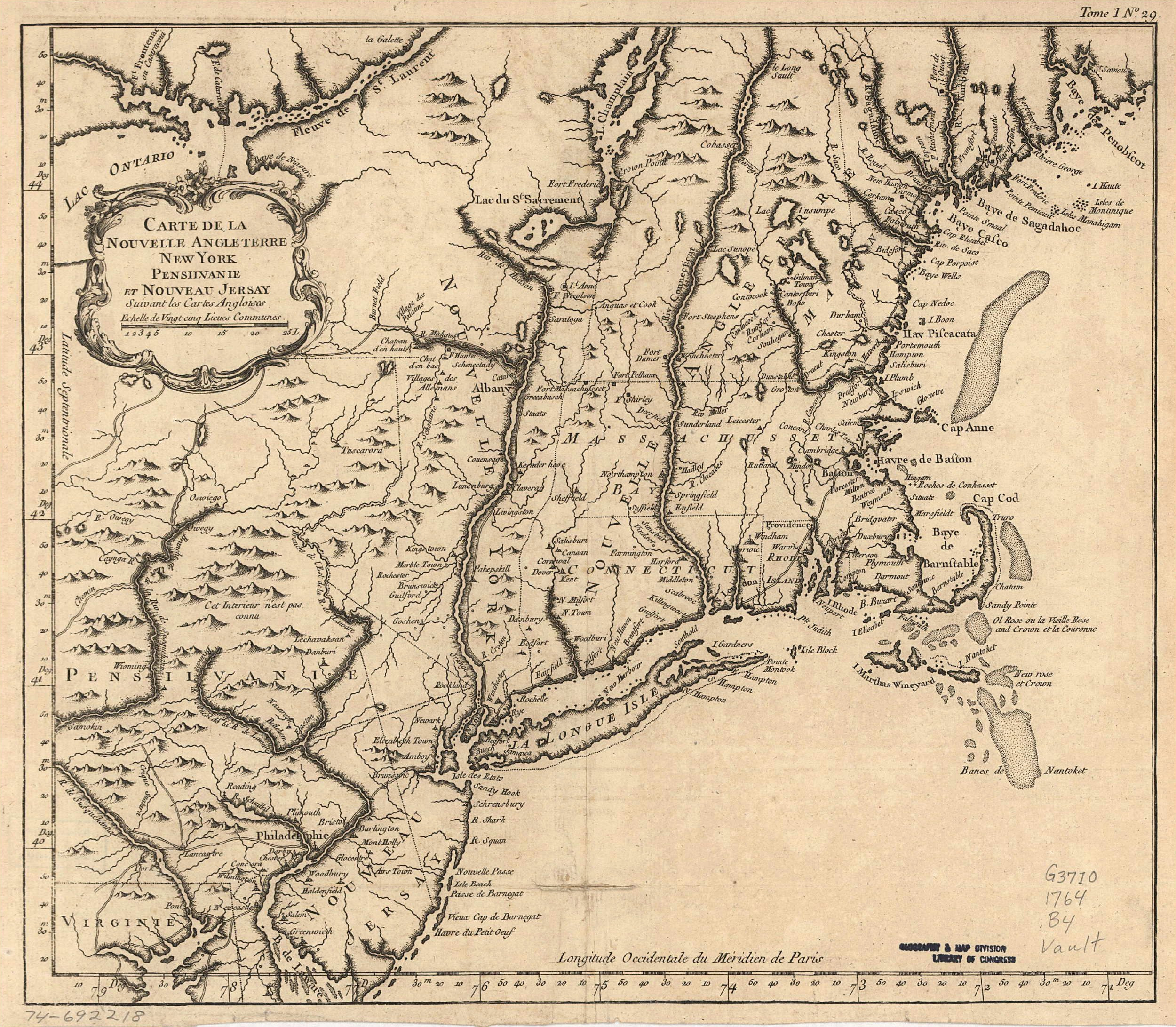 pa 1760s map to bethlehem and lancaster great