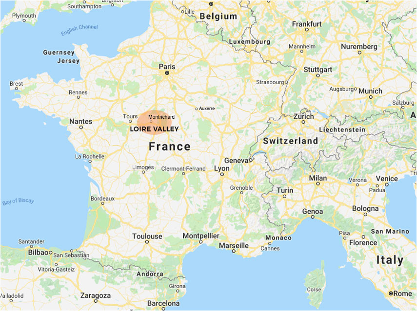 texpertis com map of southern france elegant loire valley