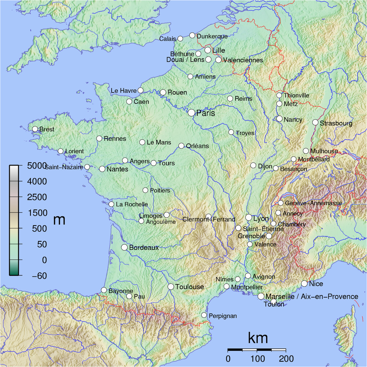 list of cities in france simple english wikipedia the
