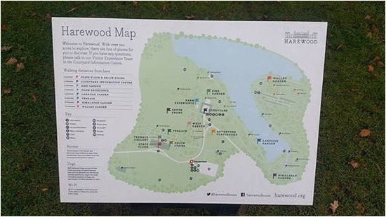 the map crucial picture of harewood house leeds