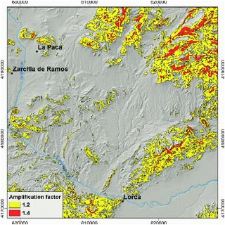 geological map of part of the eastern betic cordillera se spain