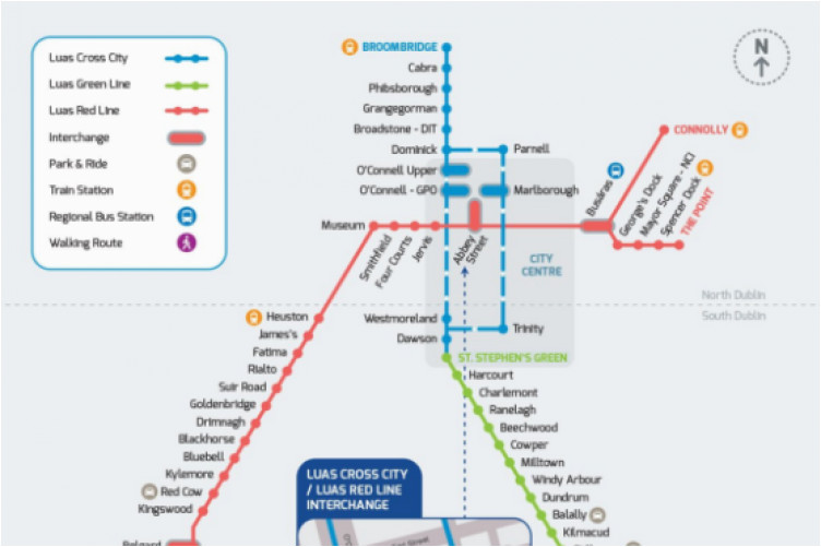 from december this is what the luas map will look like a thejournal ie