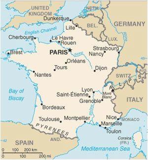 simple map of france twitterleesclub