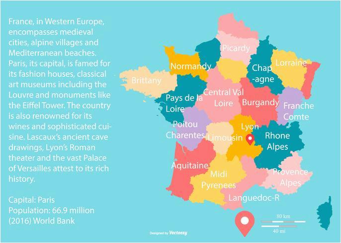 top 10 punto medio noticias location of france in world