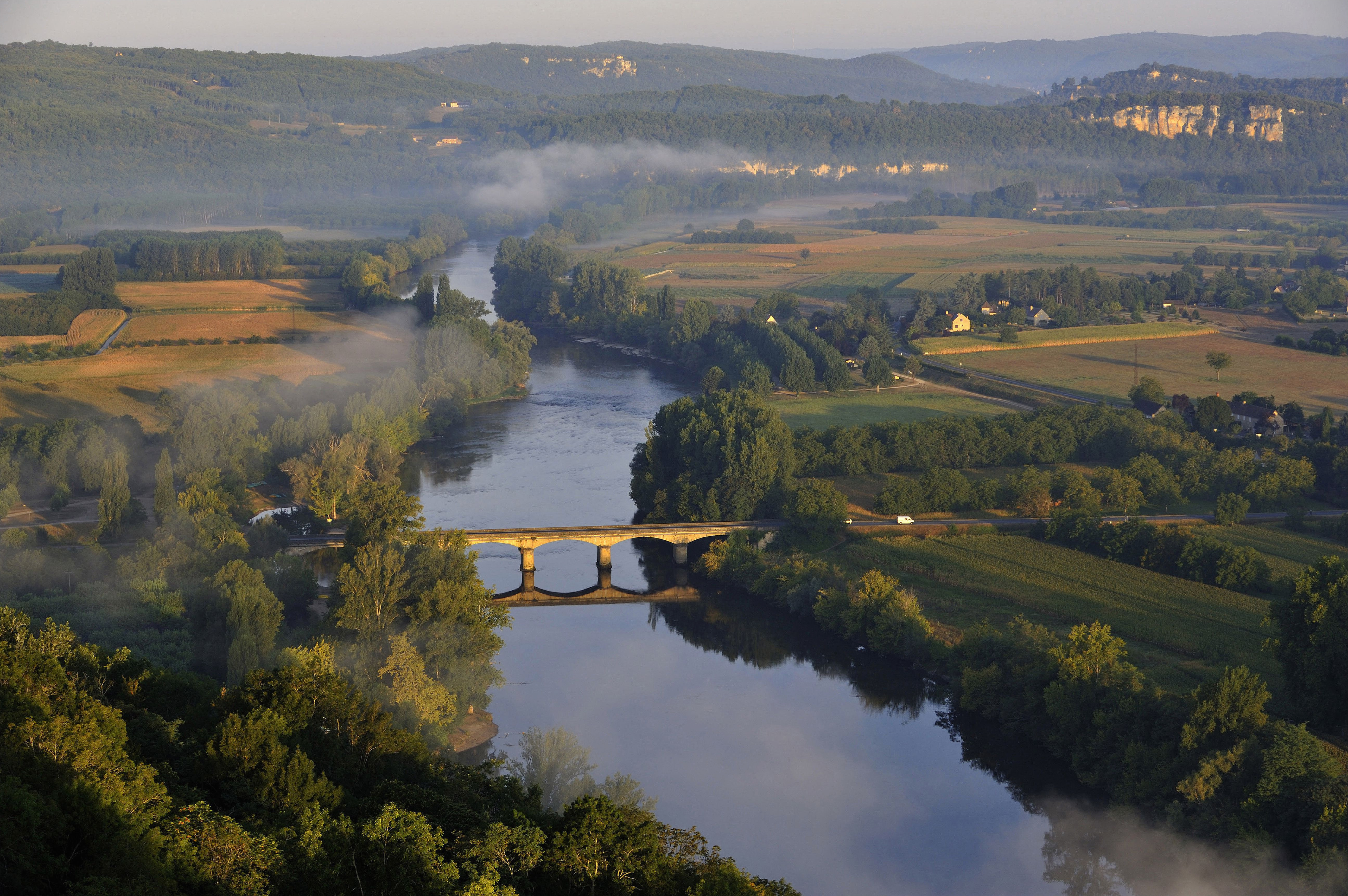 the longest and major rivers of france