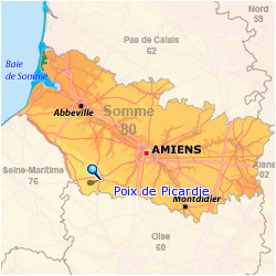 poix de picardie area of france where my terrell ancestors are said