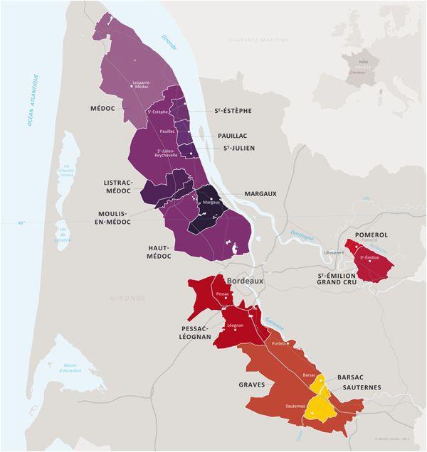 wine map cartographie du guide de l ugcb union des grands crus de