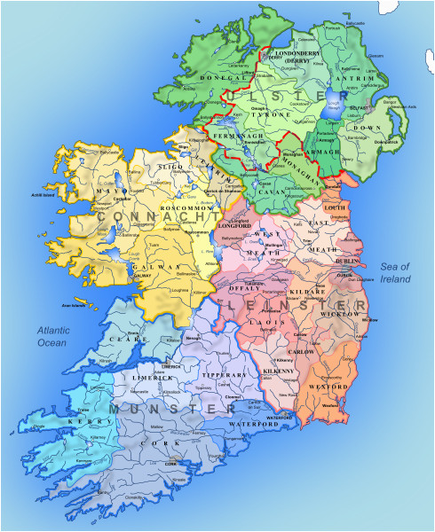 ireland s provinces ireland maps in 2019 ireland map
